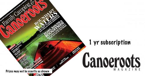 Canoeroots Magazine Subscription